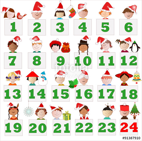 Calendario Di Avvento Per Bambini.Il Calendario Dell Avvento Per Bambini E E Ragazzi E Dai 7
